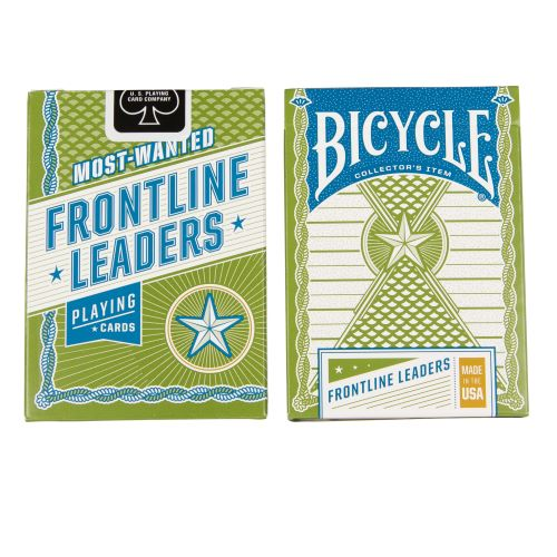 Post 9/11 Frontline Leaders Playing Cards