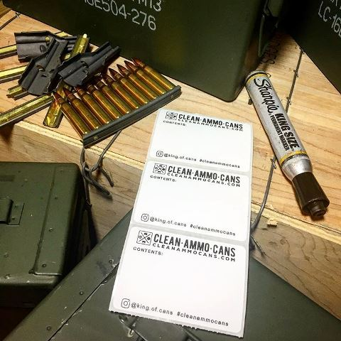 Free Ammo Can Labels With Every Ammo Can Order!
