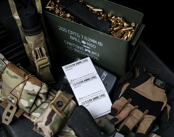Ammo Can Label