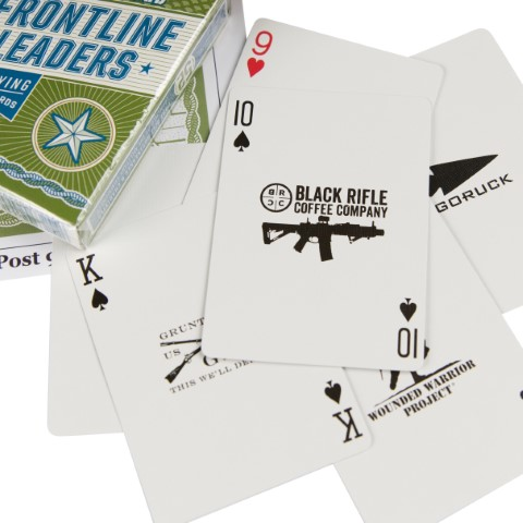 2019 Post 9/11 Frontline Leaders Collector's Edition Playing Cards in Stock!
