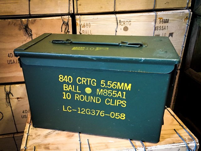 Yellow Letter 30 cal and 50 cal Ammo Cans are Back in Stock!