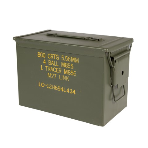 Fat 50 PA108 SAW 5.56 Grade 1 Ammo Cans Now Available!