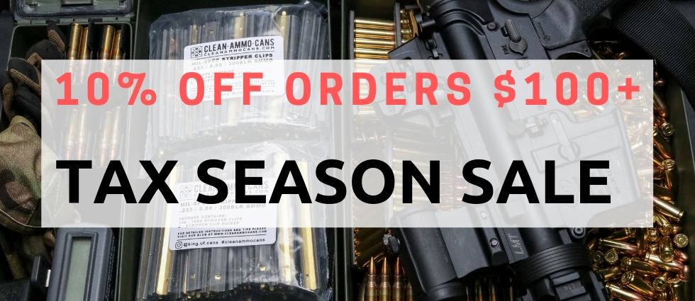 2019 Tax Season Sale is Live!
