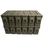 12 Pack - M19A1 30 cal Ammo Cans