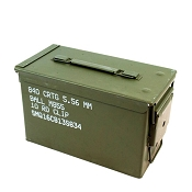 9 Pack - 50cal size M2A1 Ammo Cans