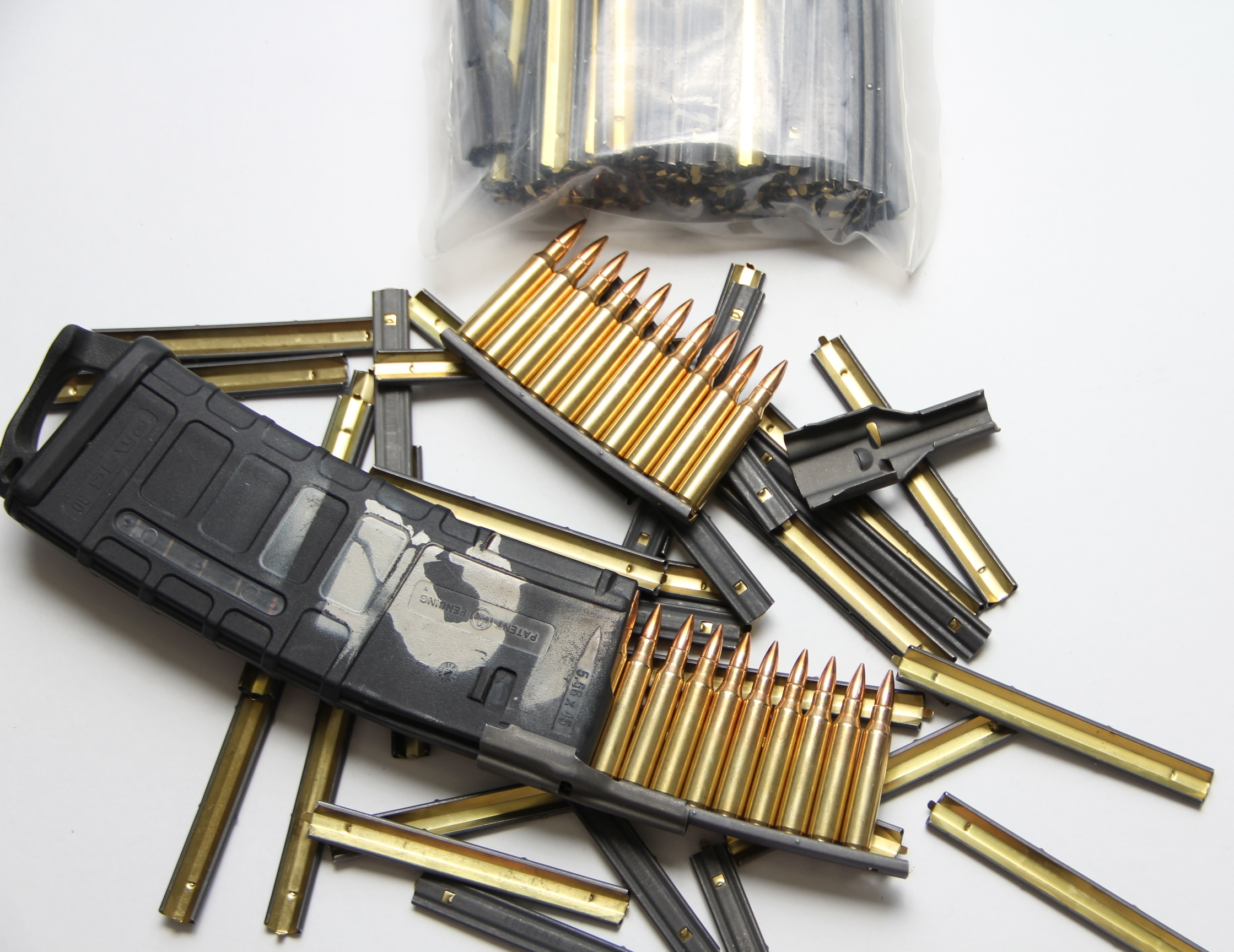 100 Pack - .223/5.56 10RD AR15 Stripper Clips