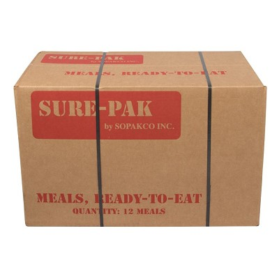 Sopako Sure-Pak - 12 MRE Case w/ Heaters